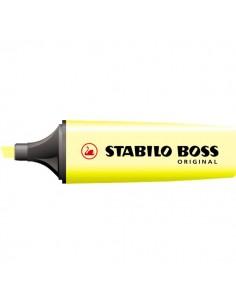 Scatola cartone evidenziatori BOSS® ORIGINAL - giallo - 2-5 mm - 70/24 (conf.10)