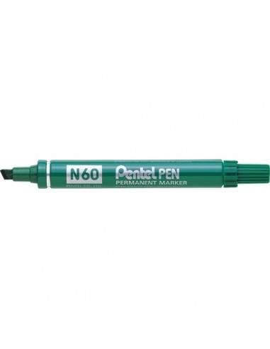 Marcatore permanente Pentel - Marcatore N50 - verde - tonda - 4,3 mm - N50-D