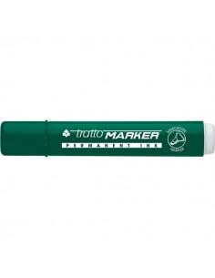 Marcatore Tratto Marker - a scalpello - verde - 1- 5 mm - 840104 (conf.12)