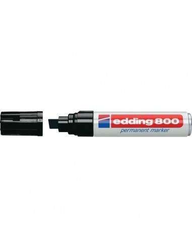 Marcatore permanente 800 Edding - nero - scalpello - 4-12 mm - e-800 001