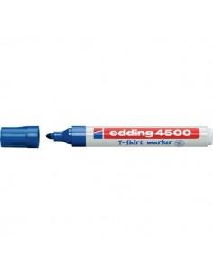 Marcatore per tessuti 4500 Edding - blu - tonda - 2-3 mm - e-4500 003