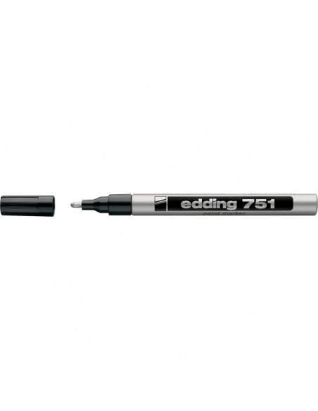 Marcatore permanente a vernice Edding - argento - tonda - 1-2 mm - e-751 054