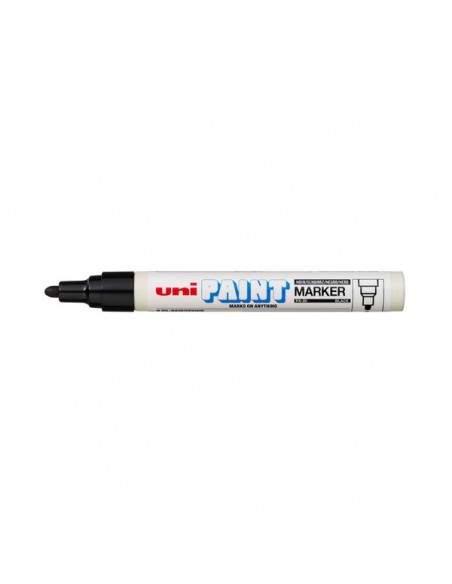 Marcatore a vernice Paintmarker Uni-Ball - argento - tonda - 2,2-2,8 mm - M PX20 ARG