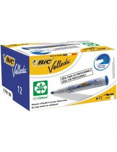 Promo pack Velleda Marker 1701 + Velleda Liquid Ink Pocket Bic - blu - 942235 (conf.12)