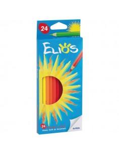Pastelli Elios Fila con Astuccio - 2,8 mm - da 3 anni in poi - 273600 (conf.24)