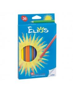 Pastelli Elios Fila con astuccio - 2,8 mm - da 3 anni in poi - 273900 (conf.36)