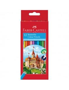 Matite colorate Faber Castell - 120112 (conf.12)