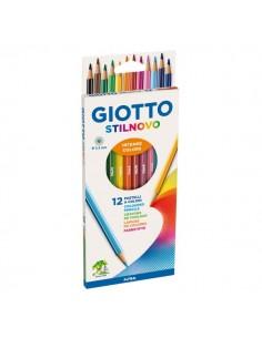 Pastelli Stilnovo Giotto - 3,3 mm - da 3 anni in poi - 256500 (conf.12)