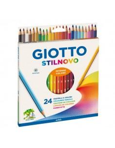 Pastelli Stilnovo Giotto - 3,3 mm - da 3 anni in poi - 256600 (conf.24)