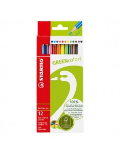 Matite colorate GREENcolors Stabilo - 2,5 mm - 6019/2- 6019/2-121 (conf.12)