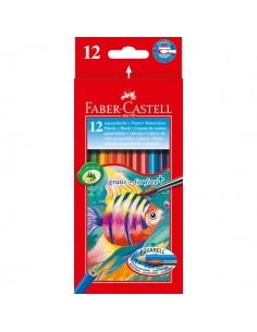 Astuccio matite acquerellabili Faber Castell - 3,3 mm - 114413 (conf.12)
