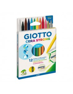 Pastelli Giotto a cera Strong 3 in 1 Giotto - 281800 (conf.12)