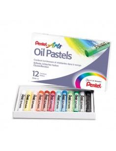 Pastelli ad olio Pentel - 0100524 (conf.12)