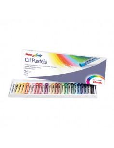 Pastelli ad olio Pentel - 0100525 (conf.25)