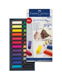 Creta Soft Pastel Creative Studio Faber Castell - assortiti - 128224 (conf.24)