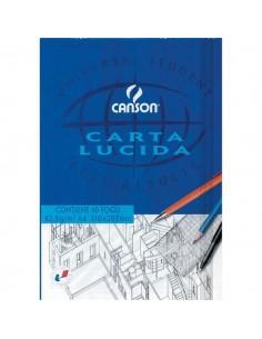 Blocco disegno carta lucida Canson - A4 - 90/95 g/mq - 50ff - C200757201