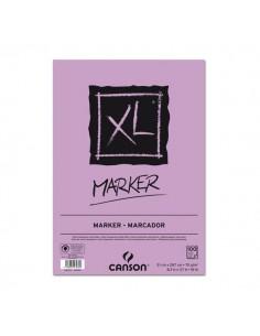 Blocco XL Marker Canson - collato lato corto - A4 - 100ff - C200297236