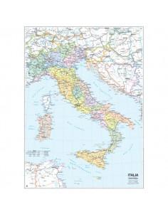 Carta geografica murale fisica e politica ITALIA Belletti - 97x134 cm - MS01PL