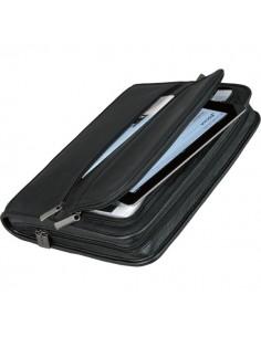 Portablocco con custodia tablet Alassio - 36x7x28,5 cm - nero - 30062