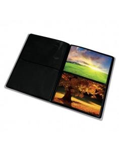Album foto con copertine flessibili Lebez - 80 buste - 22x28,5 cm - assortiti - 2757