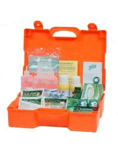 Valigetta Pronto soccorso 3 persone PVS - plastica - 46x34,5x14,5 cm - DM388 - CPS154