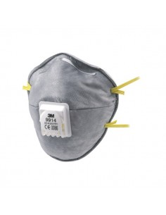 Respiratore con strato di carboni attivi 3M - gas e vapori - FFP1 - 51435 (conf.10)