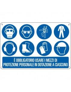 Cartelli segnaletici obbligo Cartelli Segnalatori - E2659