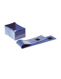 Busta a fascia per piedi pallet Durable - 145 x 75 mm - 1724-07 (conf.50)