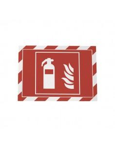 conf. 2 Cornice autoadesiva rosso/bianco Durable 4944-132