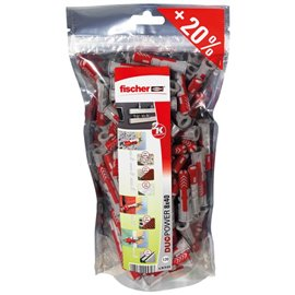 Value pack Duopower Fischer - 6x30 mm - 536249 (conf.240)