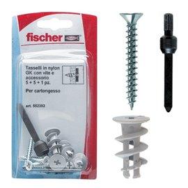 Tasselli GK per cartongesso Fischer - 552392 (conf.11)