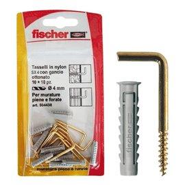 Appendiquadro SX 4 G K Fischer - ottonato - 504438 (conf.10)