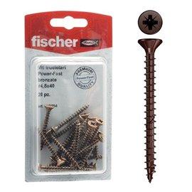 Viti in acciaio FPF Fischer - 4x30 mm - 518996 (conf.30)