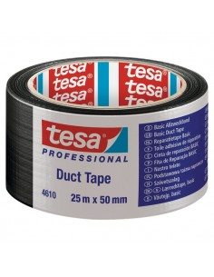 Nastro americano Tesa - standard - 25mx50 mm - nero - 04610-00003-00