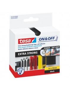 Velcro adesivo Tesa - nero - 1mx50mm - 55229-00001- 55229-00000- 55229-00001- 55229-00000-02