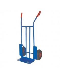 Carrello portacasse con ruote pneumatiche Serena Group - blu - 57x46x116 cm - 300 kg - HT 300