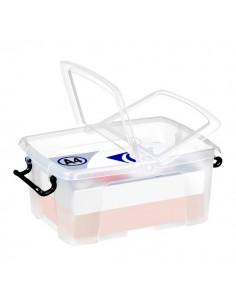Contenitori con coperchio Smart Box Strata - 30x22,5x18,2 cm - 6 l - HW670