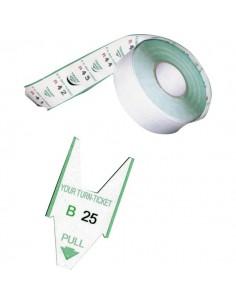 Rotoli tagliandi - Verde - per EliminaCode Printex Tr/roll/ver (conf.5)