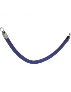 Cordone per colonnina separacoda Securit - blu - 1,5 m x 6 cm - RS-CLRP-CHBU