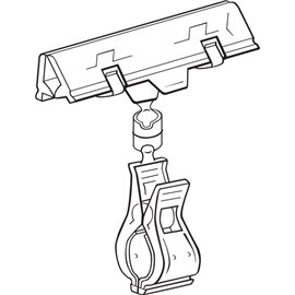 Supporto a molla Versagrip Deflecto - 2,4x7,6x10,1 cm - WYSH10 -10 (conf.10)