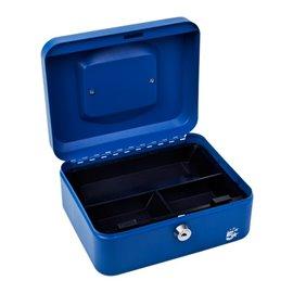 Cassetta portavalori 5 Star - 16x20x9 cm - blu - 918893