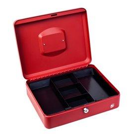 Cassetta portavalori 5 Star - 24x30x9 cm - rosso - 918931