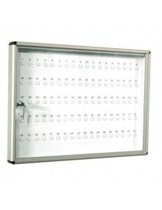 Bacheca Portachiavi 5 Star - alluminio - 70x50 cm - 90 posti - 570 P
