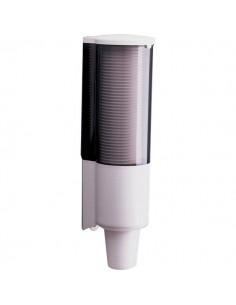 Distributore per bicchieri standard QTS - capacità 60 bicchieri 200 cc - 3050/OOB