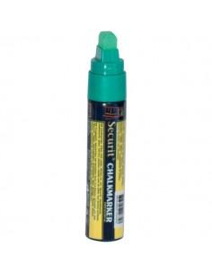 Pennarelli A Gesso Liquido Securit - 7-15 mm - Verde - SMA720-GR
