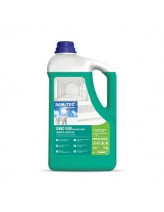 Detergente profumato per pavimenti Sanitec - 5 Kg - mela verde e bacche - 1437