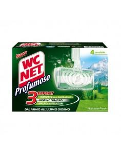 Tavolette solide igiene e profumo Wc Net - 4 pz - M77802/M74392 (conf.4)