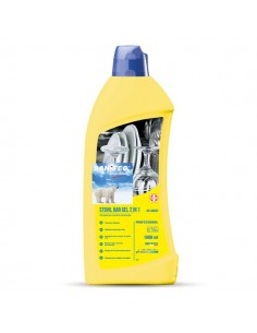 Detergente gel con brillantante per lavastoviglie Sanitec - 1 lt - 1161-S