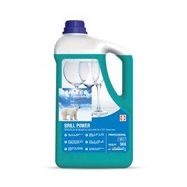 Brillantante per lavastoviglie professionali Sanitec - 5 Kg - 1130