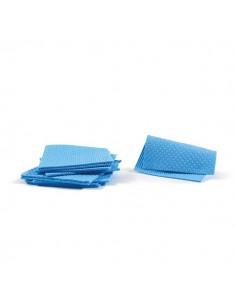Pannospugna Aquos Perfetto Factory - azzurro - 18x20 cm - 0231A (conf.10)